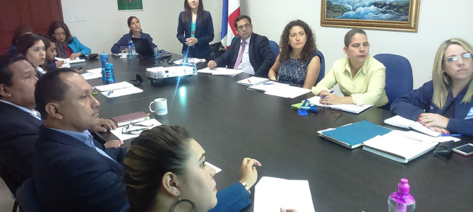 Delegación de la Superintendencia de Pensiones de Chile de visita en el SIACAP