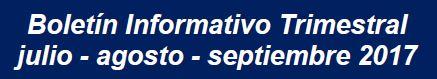 Boletín Informativo Trimestral del SIACAP