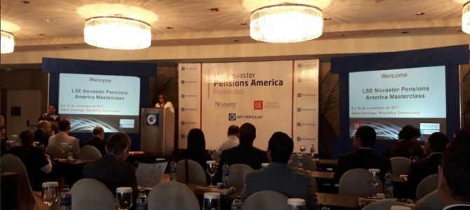 Funcionarios del SIACAP participan del Programa LSE Novaster Pensions America Masterclass – Noviembre 2017 en República Dominicana.