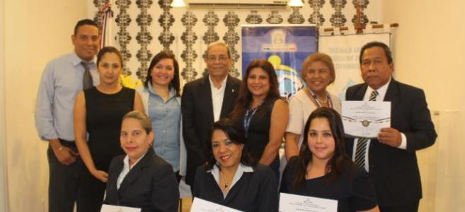 DIGECA entregó Acreditaciones a funcionarios del SIACAP